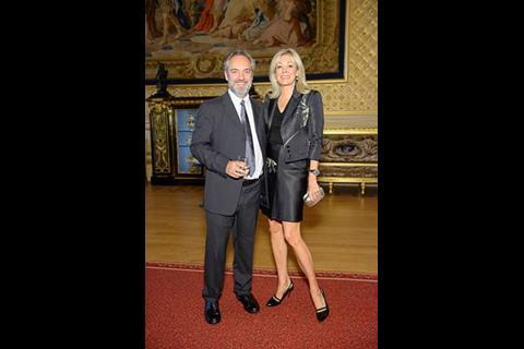 Sam Mendes and Nadja Swarovski at Films Without Borders